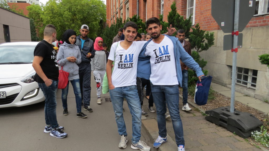 Вольются ли беженцы в германское общество зависит от них самих. Фото: Вера Блок