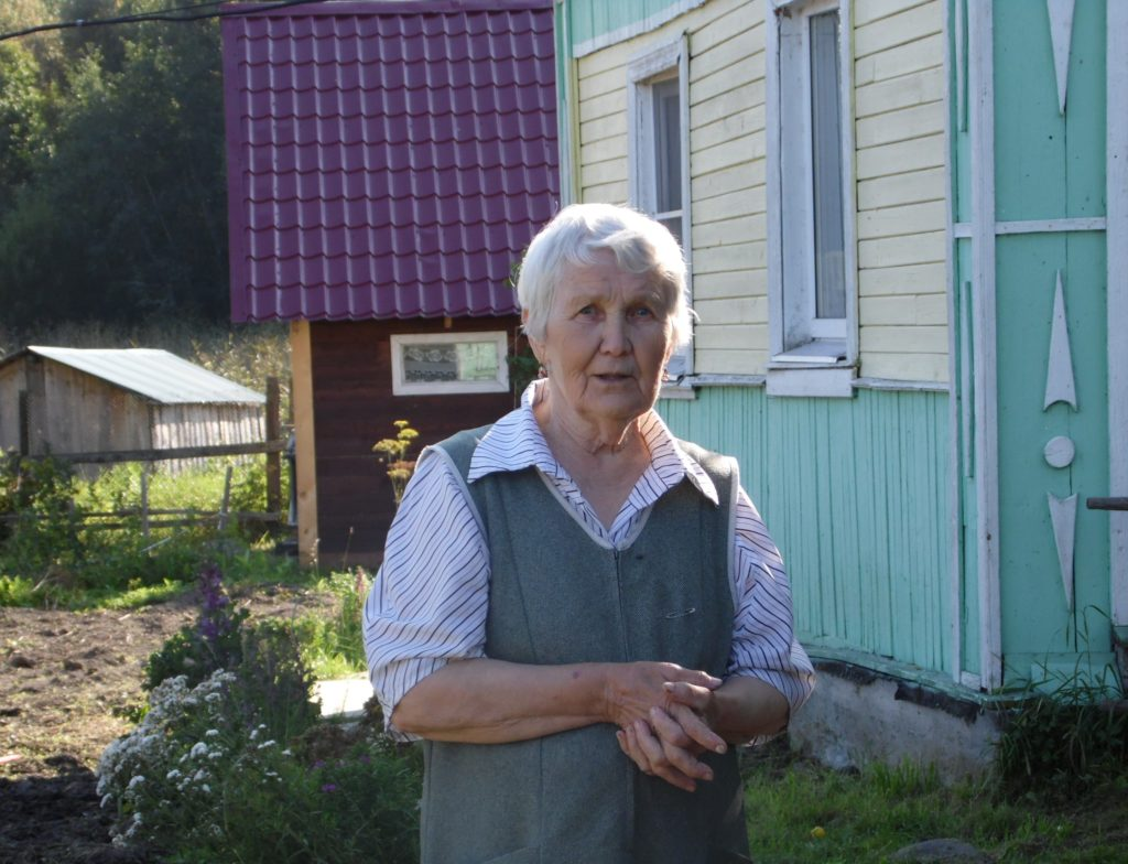 Жительница Суна Таисия Артюхова. Фото: Алексей Владимиров