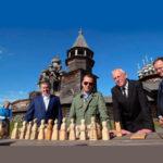 Нелидов с Медведевым, Мединским и Худилайненом. Фото: правительство.рф