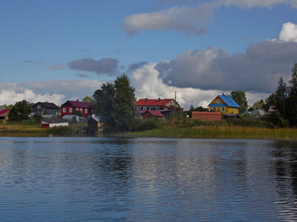 Деревня Суна. Фото: Алексей Владимиров