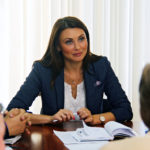 Заместитель мэра Петрозаводска Евгения Сухоруковоа