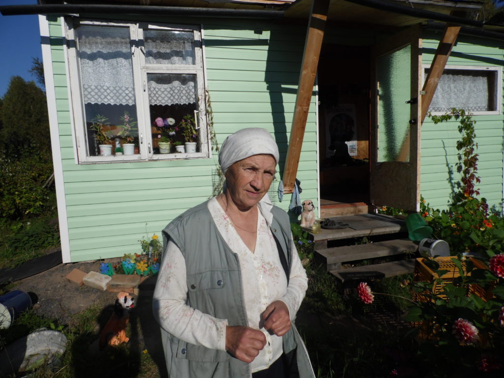 Жительница деревни Суна Нина Шалаева. Фото: Алексей Владимиров