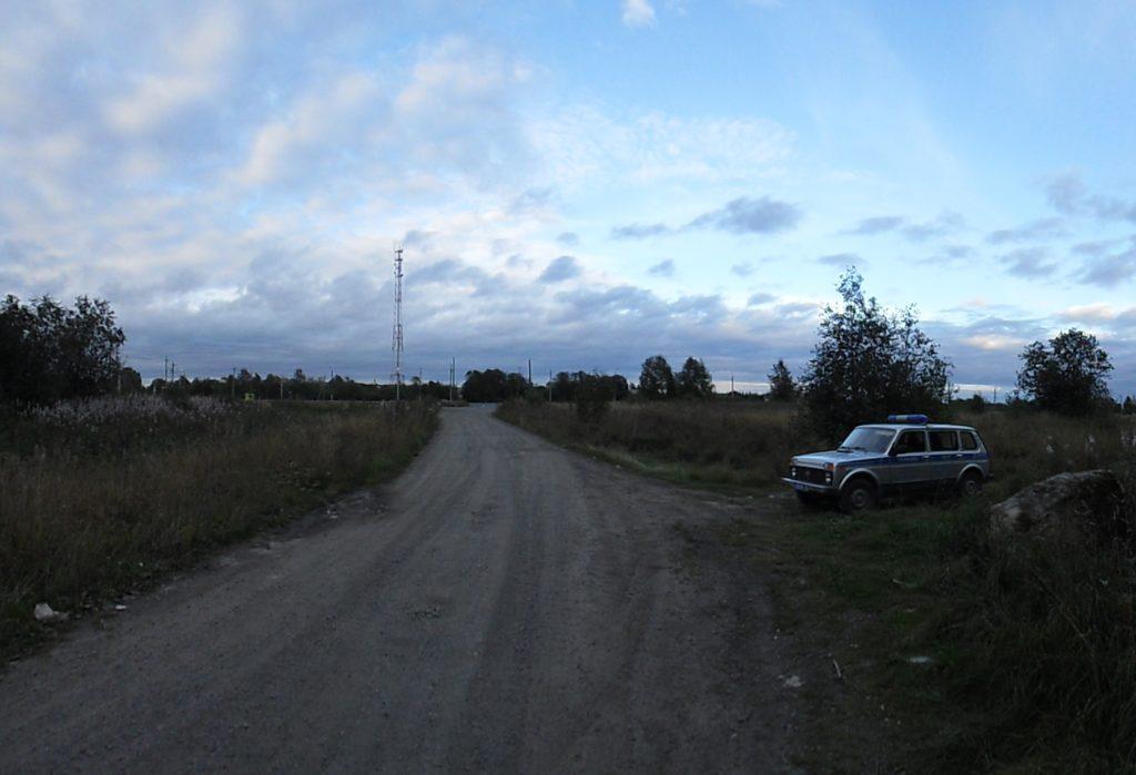 Полиция опасалась несанкционированной акции защитников Сунского бора. Фото: Алексей Владимиров