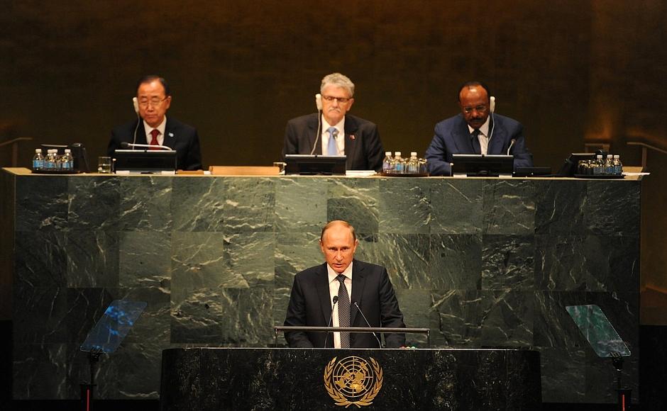 Тема государственного суверенитета стала главной в речи Путина. Фото: kremlin.ru