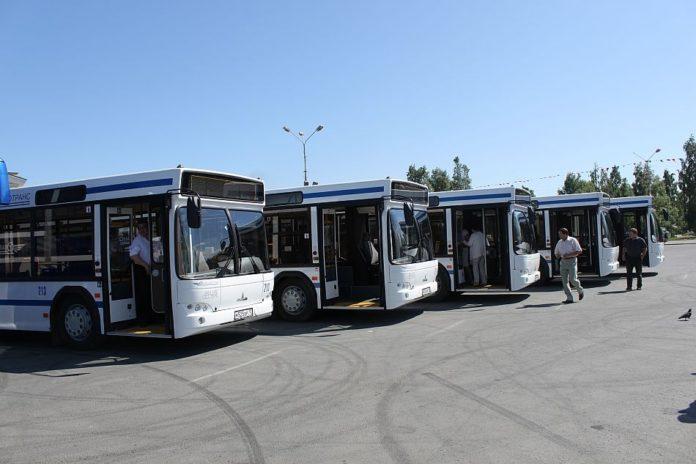 На автобусы
