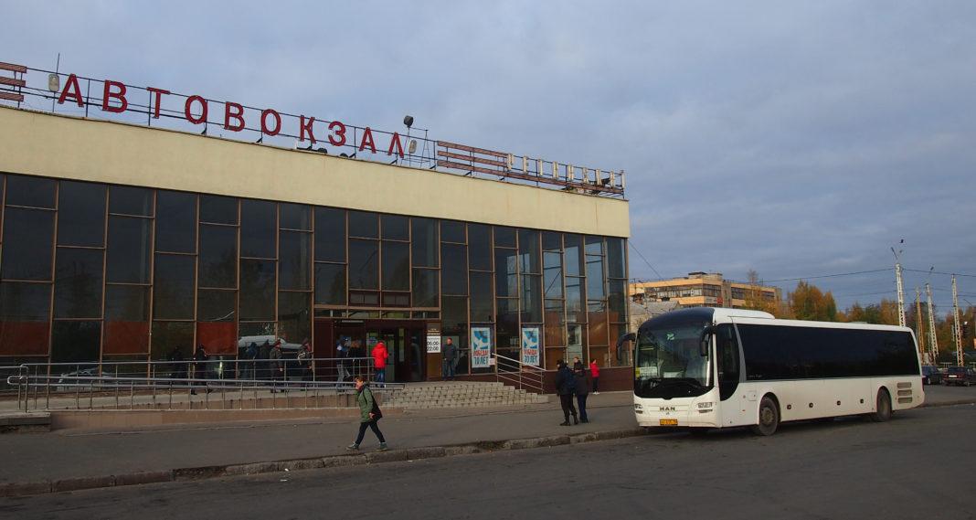 Автовокзал в Петрозаводске. Фото: Валерий Поташов