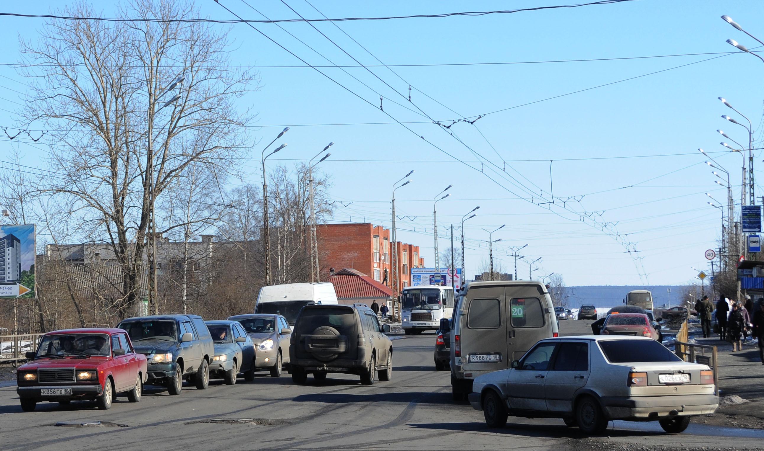 Одна из главных магистралей Петрозаводска носит имя...Чапаева. Фото: Губернiя Daily