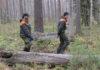 """""""Операция по спасению лобарии"""". Фото: gov.karelia.ru"""