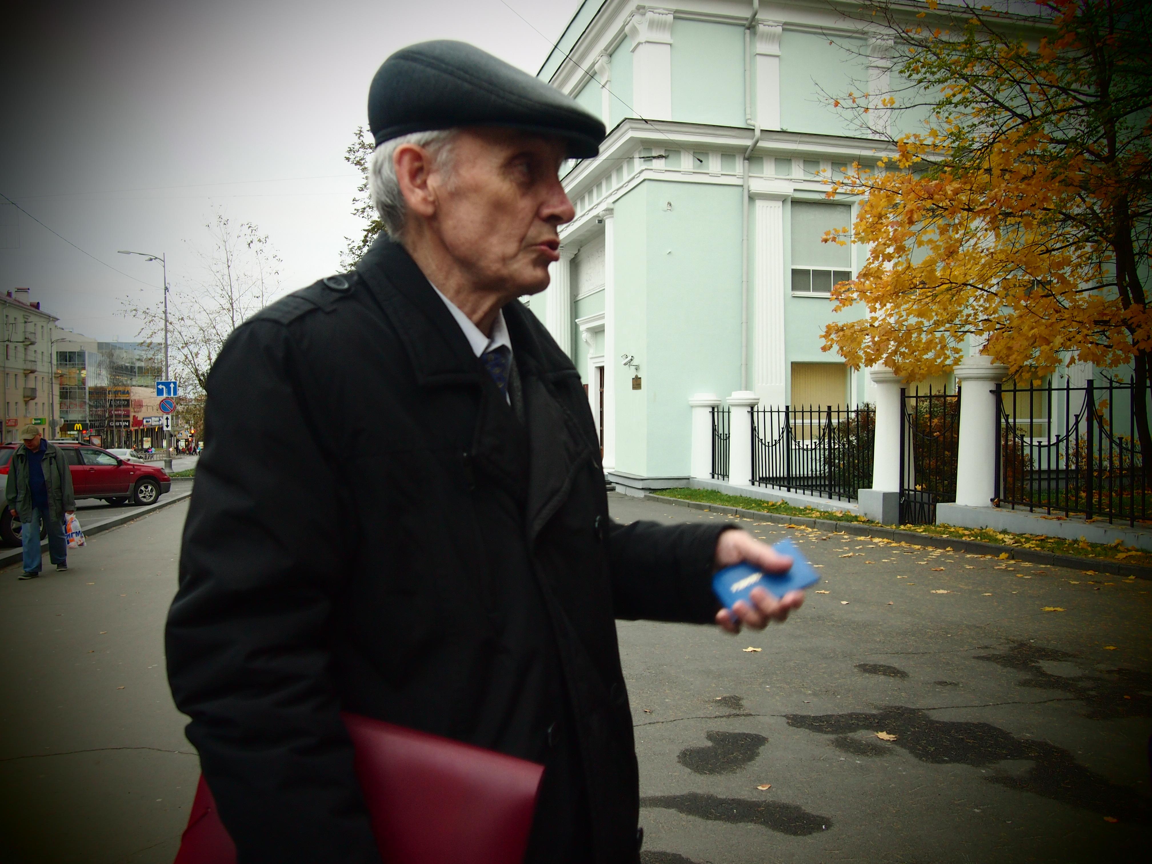 Григорьев стоял у истоков Совета карелов, вепсов и финнов. Фото: Валерий Поташов