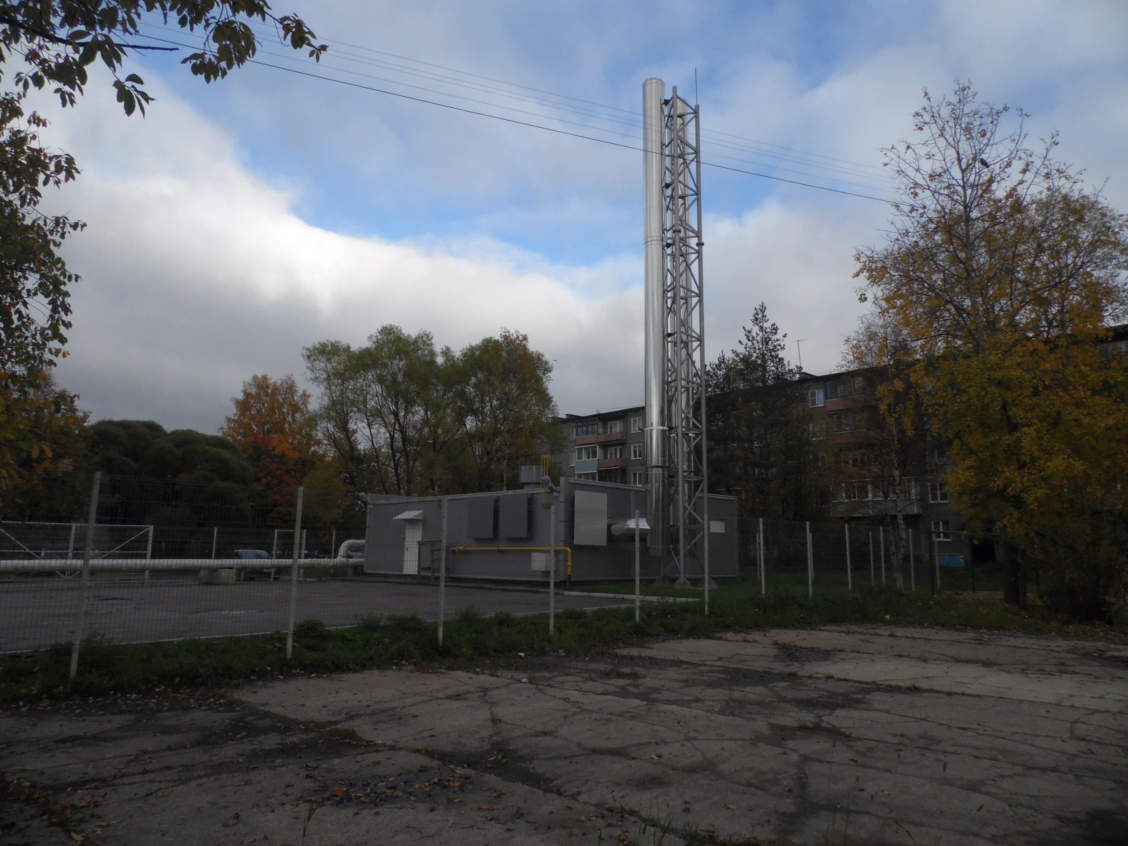 Газовая котельная на ул. Ленина. Фото: Алексей Владимиров