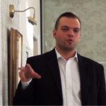 """Блогер Владимир Полысалов, он же - главный специалист по агитации и пропаганде карельских """"единороссов"""". Фото: """"Черника"""""""