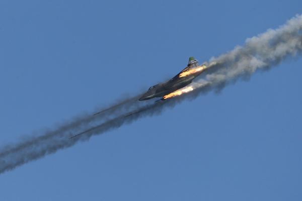 Россия начала воздушную операцию в Сирии. Фото: twitter.com