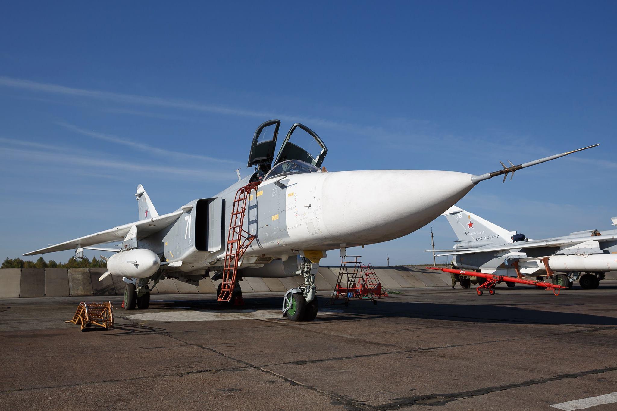 Российские ВВС приступили к нанесению ударов в Сирии. Фото: Минобороны России в Facebook