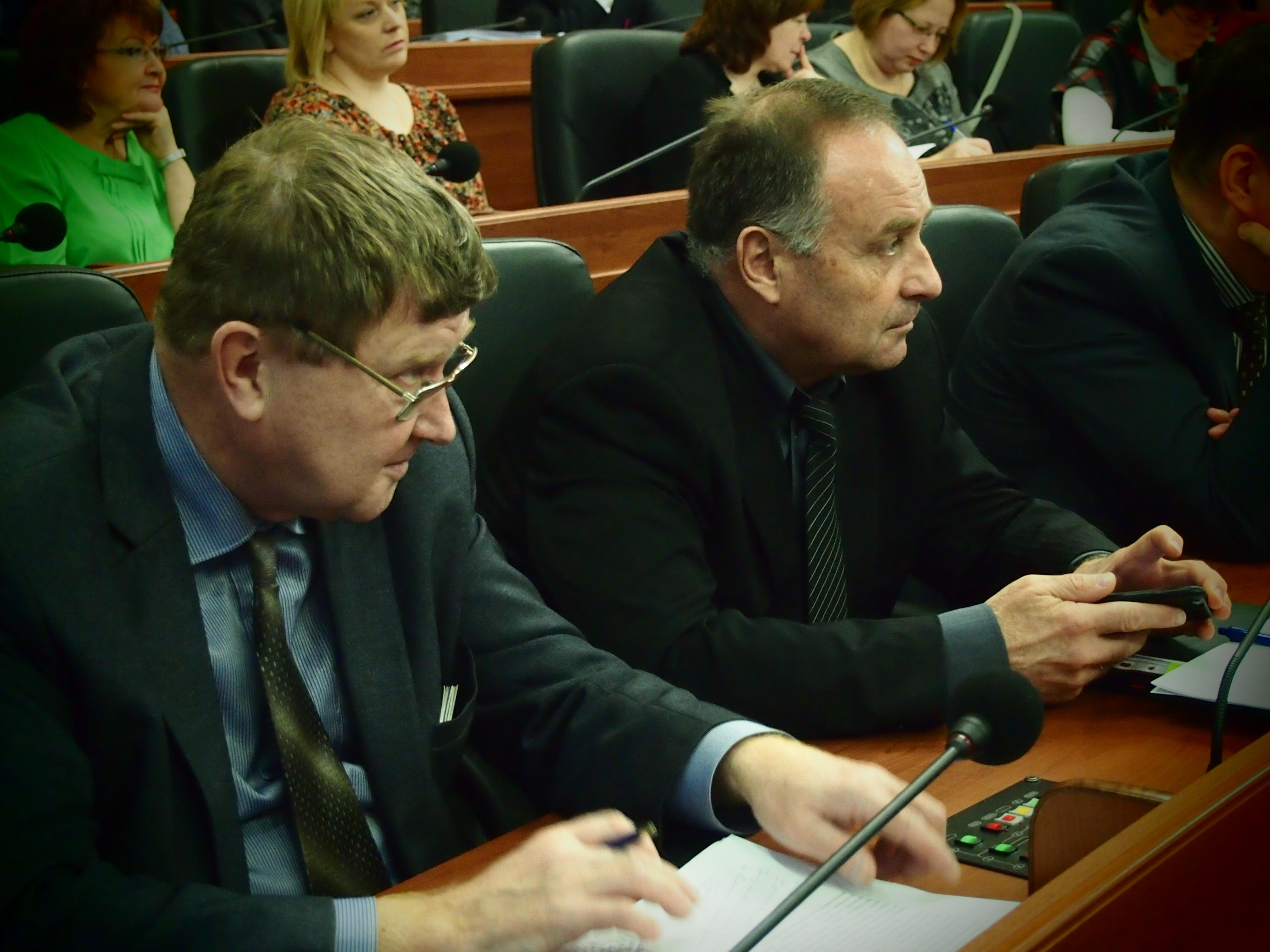 Руководство Минэкономразвития Карелии. Фото: Валерий Поташов