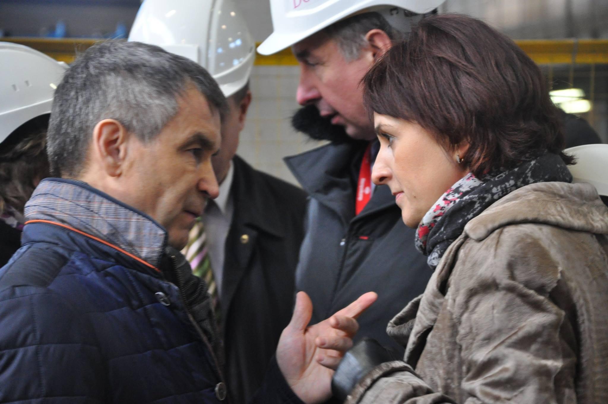 Рашид Нургалиев и Галина Ширшина. Фото: администрация Петрозаводска