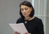 Евгения Сухорукова выступает с последним словом. Фото: Губернiя Daily