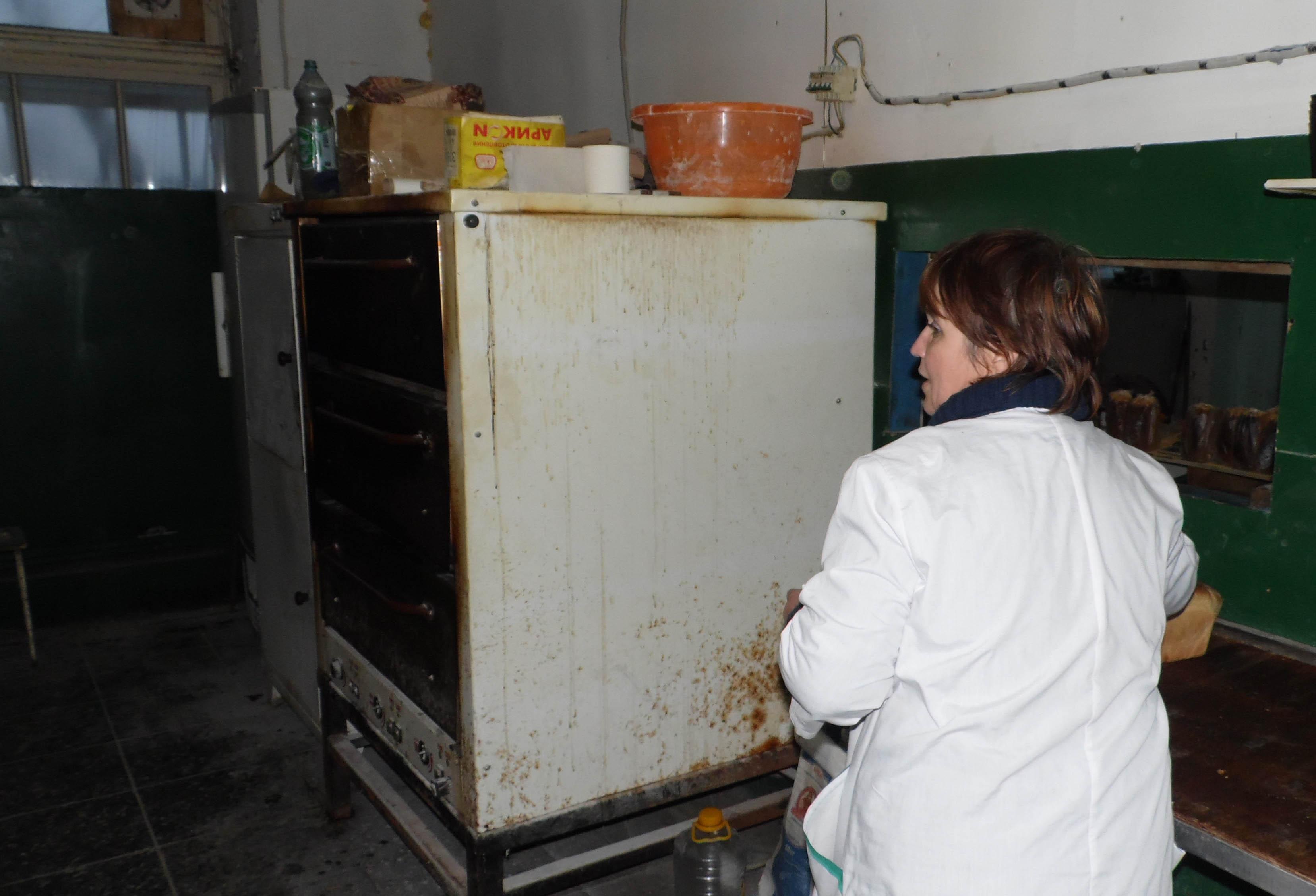 В пекарне. Фото: Алексей Владимиров