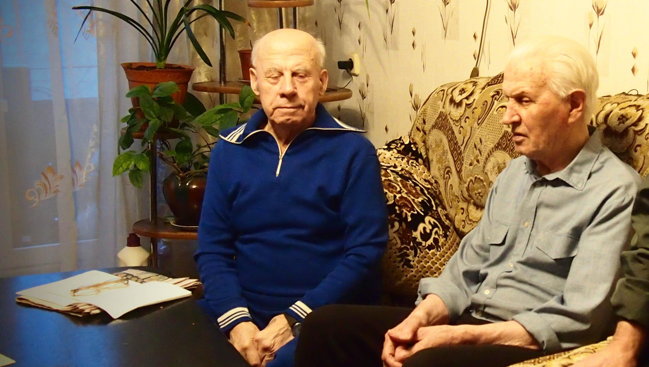 Владимир Дмецов и Николай Бакинов. Фото: Валерий Поташов