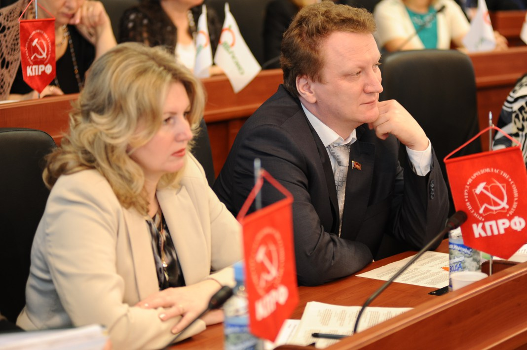 """Голоса членов фракции КПРФ оказались решающими для принятия скандального """"закона о земле"""". Фото: Губернiя Daily"""