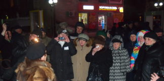 Вечерний митинг на Студенческом бульваре. Фото: Валерий Поташов