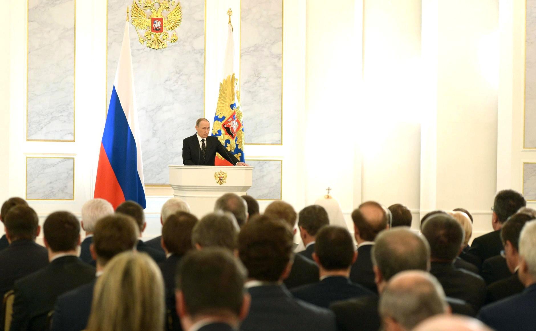 """Путин стал Медведевым""? Фото: президент.рф"