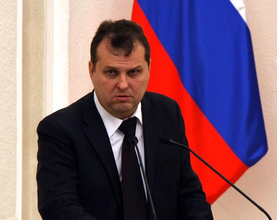 Первый вице-губернатор Карелии Олег Тельнов. Фото: stolica.onego.ru