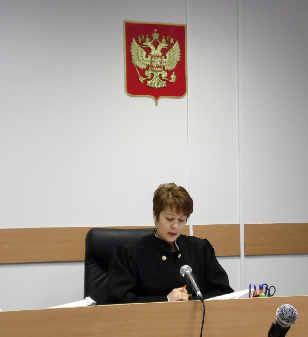 Судья Лазарева. Фото: Алексей Владимиров