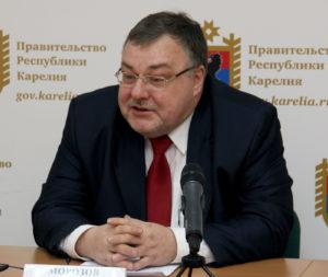 Министр образования Карелии Александр Морозов. Фото: gov.karelia.ru