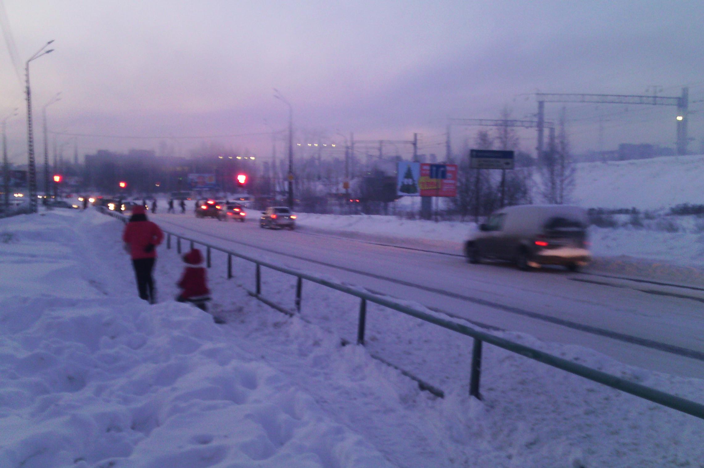 На улице Шотмана. Фото: Валерий Поташов