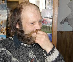 Член Общественного лесного совета поселка Тиурула Александр Талья. Фото: Валерий Поташов