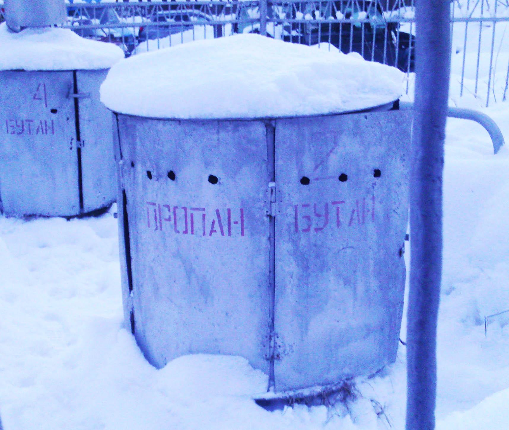 Большинство жителей Карелии по-прежнему вынуждено пользоваться сжиженным газом. Фото: Валерий Поташов