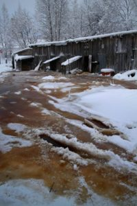В таких условиях приходится обитать жителям Суоярви. Фото: facebook.com