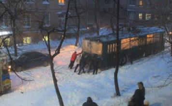 Петрозаводск. 13 января 2016 года. Фото: Анита Румянцева (vk.com/id23303635).