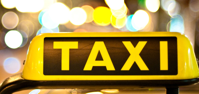 Не нравится ездить на утиле - закажи такси. Фото: vk.com