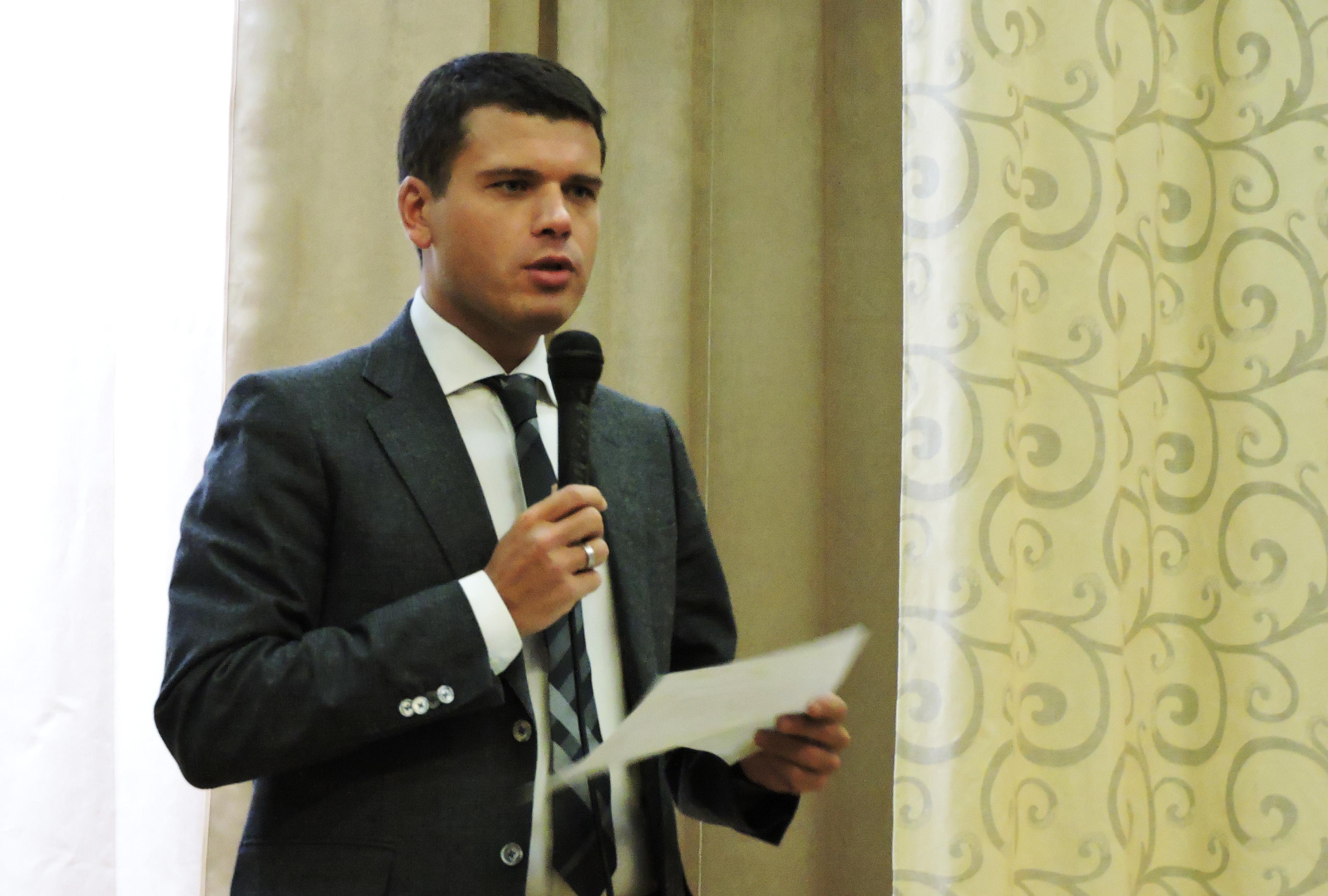 Дмитрий Матвиец. Фото: Алексей Владимиров