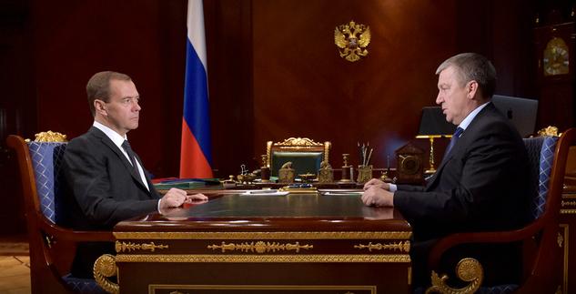 Медведев и Худилайнен. Фото: правительство.рф