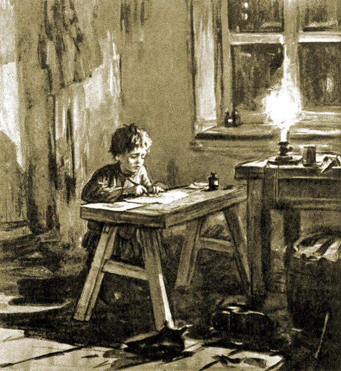 Иллюстрация к рассказу А.П. Чехова