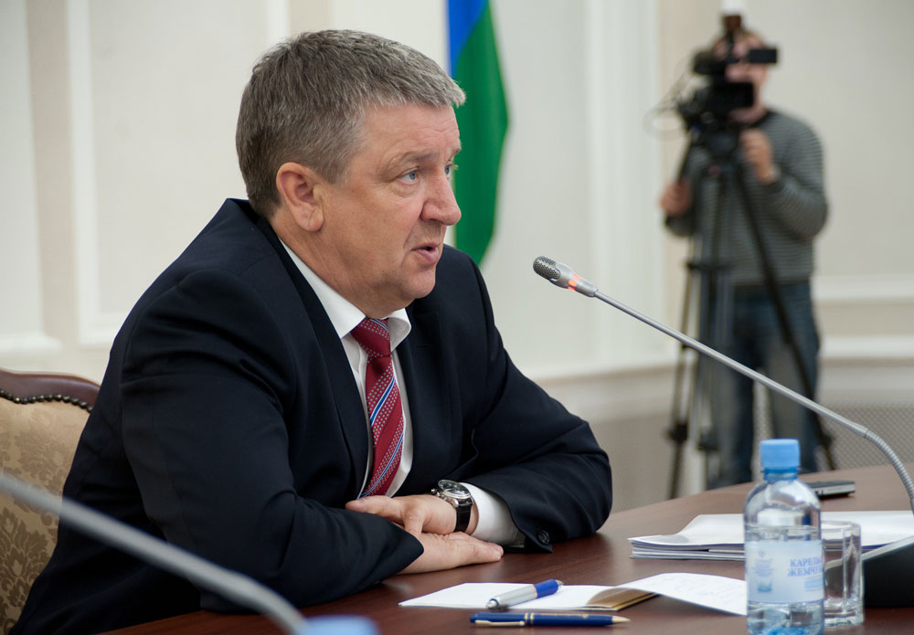 Глава Карелии Александр Худилайнен. Фото: Губернiя Daily