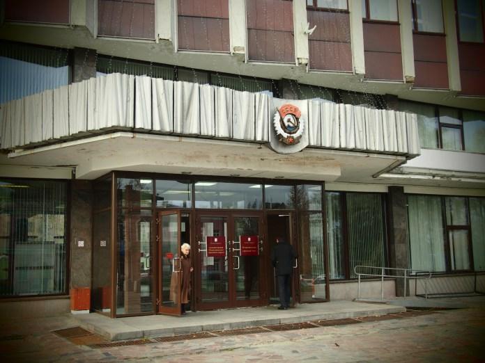 Здание администрации Петрозаводска. Фото: Валерий Поташов