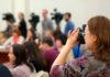 Карельские журналисты на пресс-конференции. Фото: Губернiя Daily