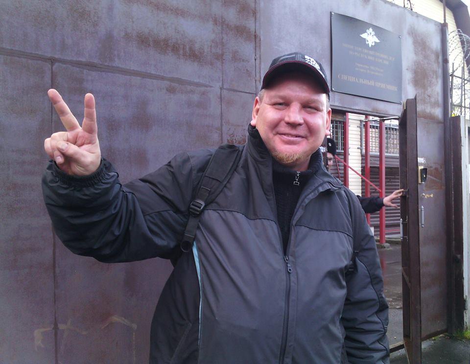 Вадим Штепа стал первым карельским журналистом, арестованным за свои публикации в социальных сетях. Фото: Валерий Поташов