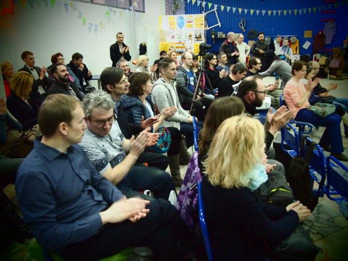 Дискуссия в арт-пространстве Agriculture Club. Фото: Валерий Поташов
