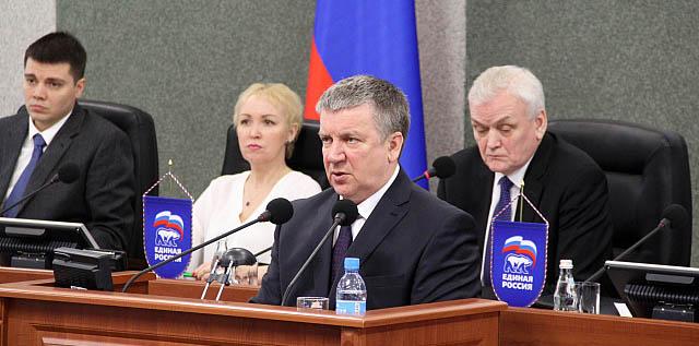Глава Карелии выступает в парламенте республики с отчетом. Фото: gov.karelia.ru