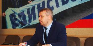 Лидер карельских профсоюзов Илья Косенков. Фото: Валерий Поташов