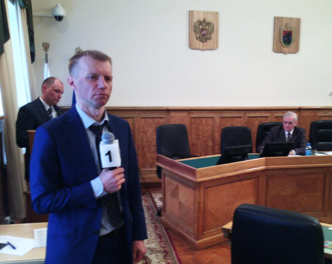 Вице-премьер Карелии Игорь Ширшов. Фото: Валерий Поташов