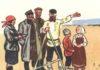 В конце прошлого года у муниципальных образований Карелии отобрали полномочия по распоряжению земельными участками, государственная собственность на которые не разграничена. Фрагмент советской книжной иллюстрации