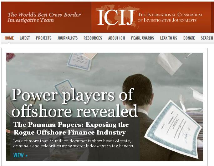 Скандальные публикации Международного консорциума журналистов российское общество не