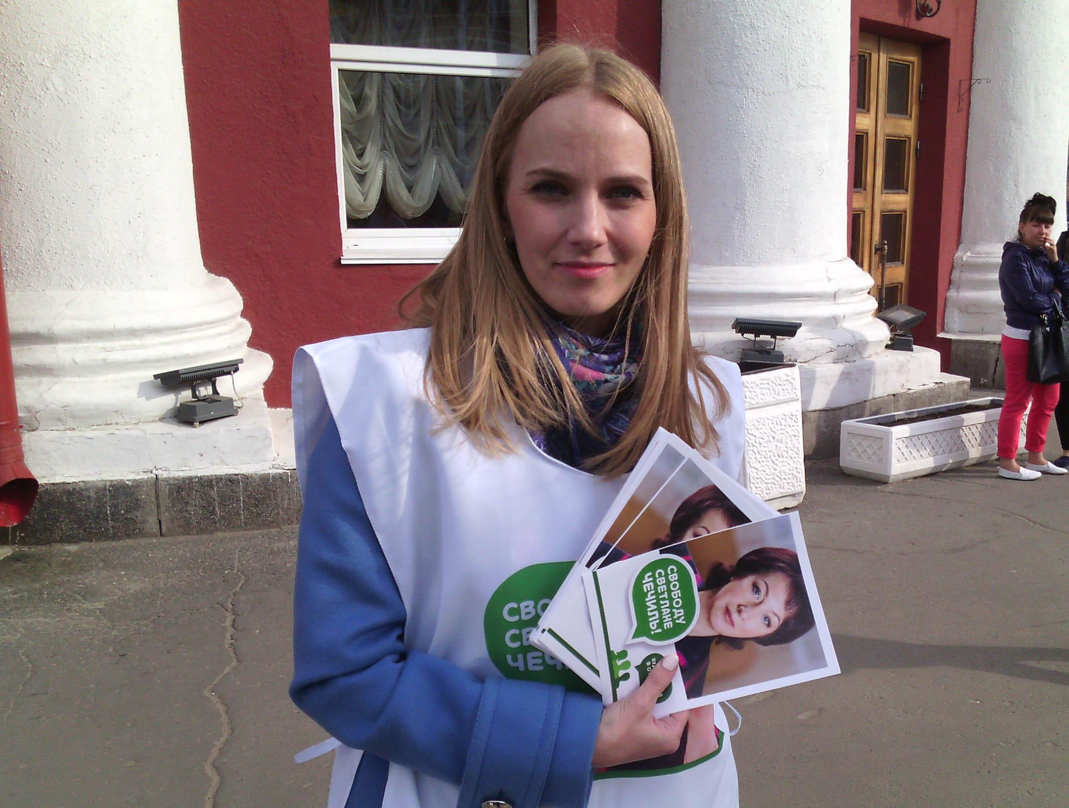 Депутат парламента Карелии Анастасия Кравчук. Фото: Валерий Поташов