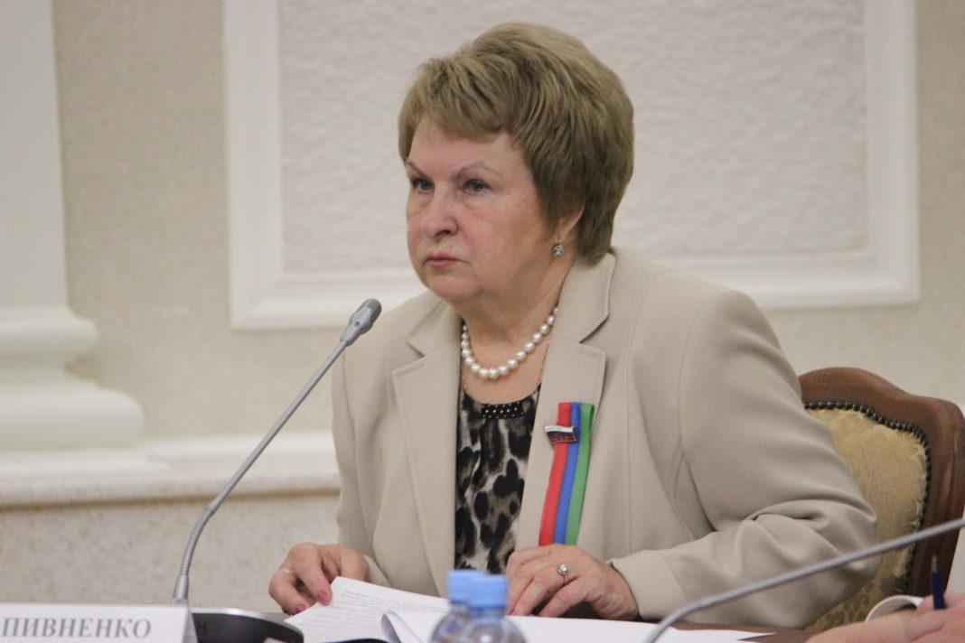 Действующий депутат Госдумы Валентина Пивненко стала победителем праймериз
