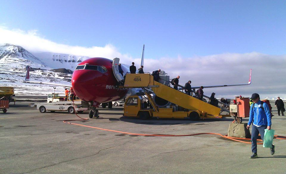 Регулярные авиарейсы на Шпицберген выполняют только норвежцы. Фото: Валерий Поташов